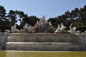 Fuente en Schönbrunn