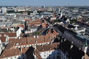 Viena desde la torre sur del Stephansdom