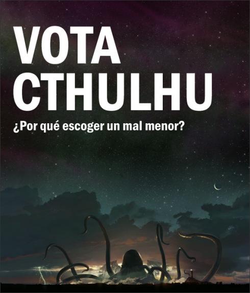 ¡Vota Cthulhu!
